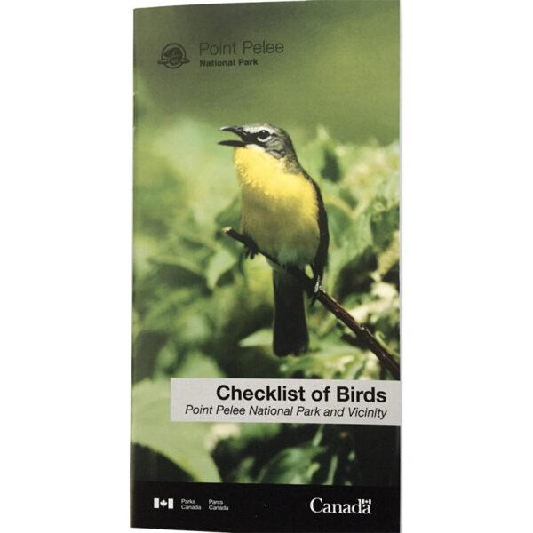 Checklist of Birds
